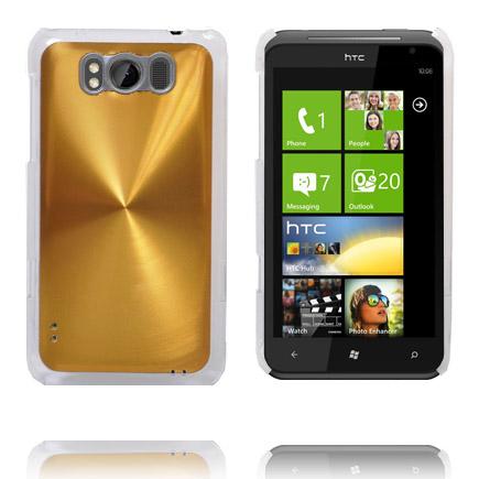 Aluminium Shield (Guld) HTC Titan Skal