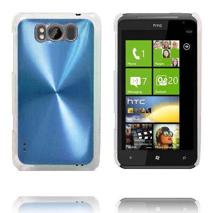Aluminium Shield (Ljusblå) HTC Titan Skal