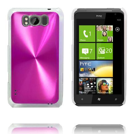 Aluminium Shield (Rosa) HTC Titan Skal