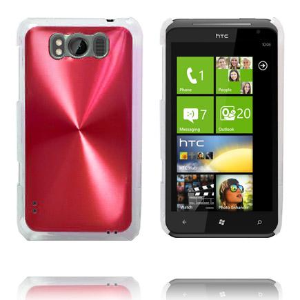 Aluminium Shield (Röd) HTC Titan Skal