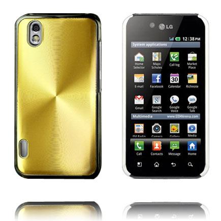 Aluminium Shield (Guld) LG Optimus Black Skal