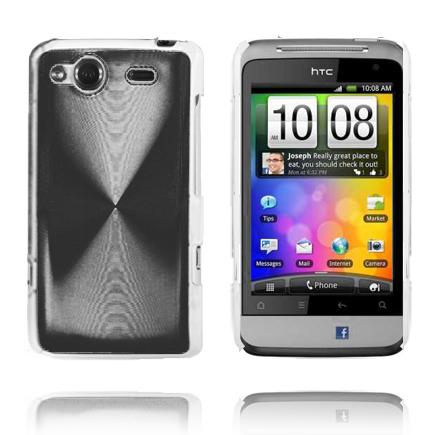 Aluminium Shield (Svart) HTC Salsa Skal