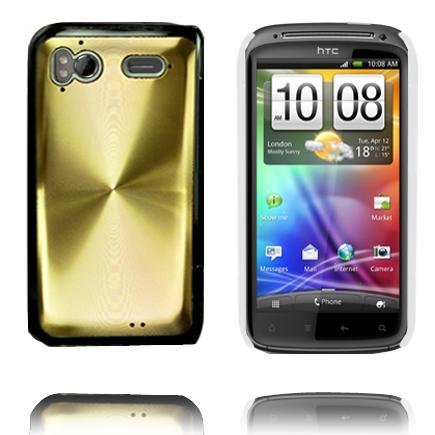 Aluminium Shield (Guld) HTC Sensation Skal
