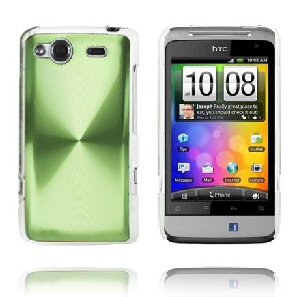 Aluminium Shield (Grön) HTC Salsa Skal