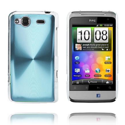 Aluminium Shield (Ljusblå) HTC Salsa Skal
