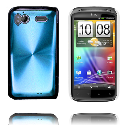 Aluminium Shield (Ljusblå) HTC Sensation Skal
