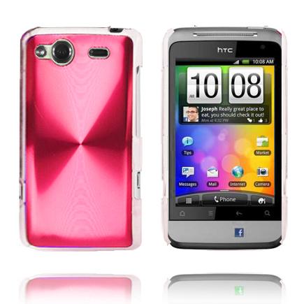 Aluminium Shield (Ljusrosa) HTC Salsa Skal