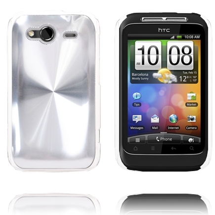Aluminium Shield (Silver) HTC Wildfire S Skal