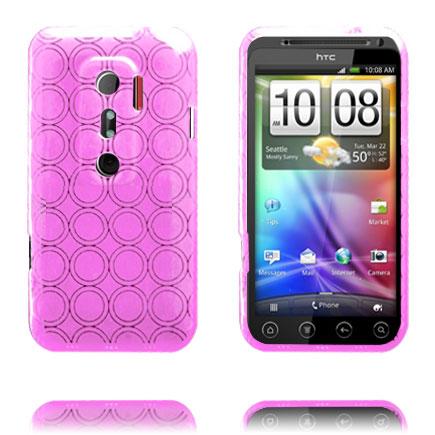 Amazona (Rosa) HTC Evo 3D Skal