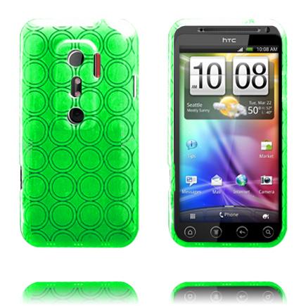 Amazona (Grön) HTC Evo 3D Skal
