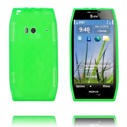Amazona (Grön) Nokia X7 Skal