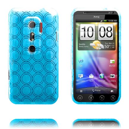 Amazona (Ljusblå) HTC Evo 3D Skal
