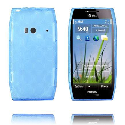 Amazona (Ljusblå) Nokia X7 Skal