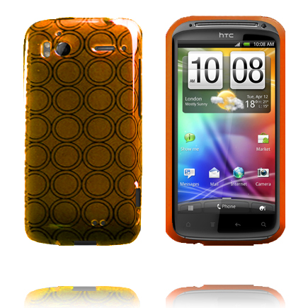 Amazona (Orange) HTC Sensation Silikonskal
