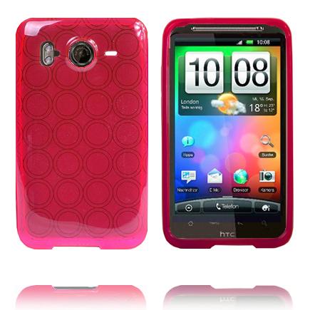 Amazona (Rosa) HTC Desire HD Skal