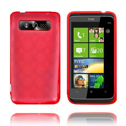 Amazona (Röd) HTC 7 Trophy Skal