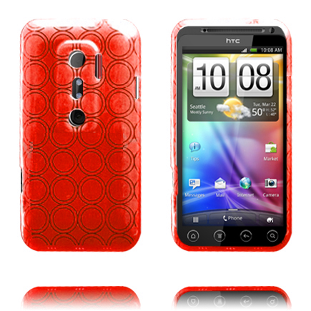 Amazona (Röd) HTC Evo 3D Skal