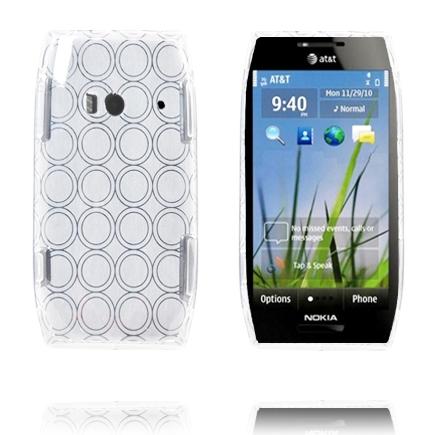 Amazona (Vit) Nokia X7 Skal