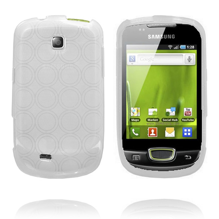 Amazona (Vit) Samsung Galaxy Mini Skal
