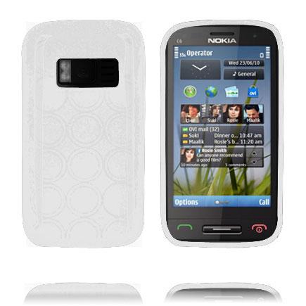 Amazona (Vit) Nokia C6-01 Skal