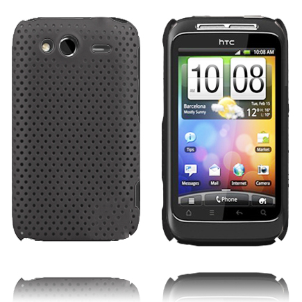 Atomic (Svart) HTC Wildfire S Skal