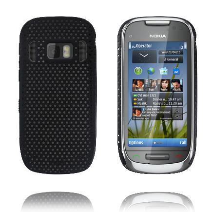Atomic (Svart) Nokia C7 Skal
