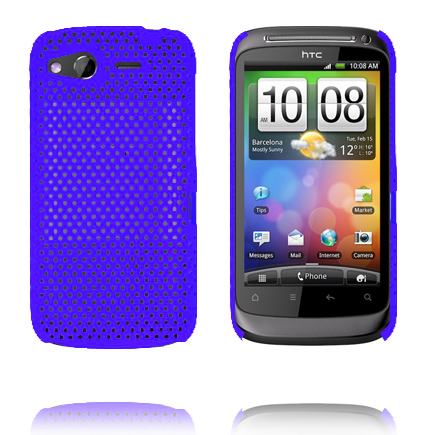 Atomic (Blå) HTC Desire S Skal