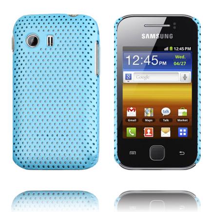 Atomic (Ljusblå) Samsung Galaxy Y Skal