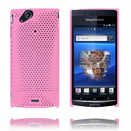 Atomic (Ljusrosa) Sony Ericsson Xperia Arc Skal