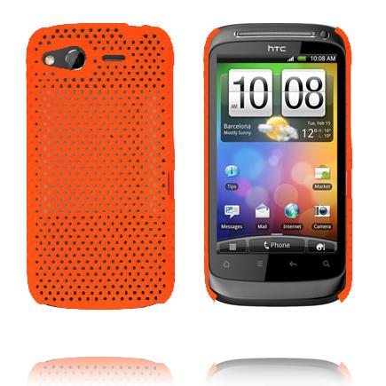 Atomic (Orange) HTC Desire S Skal
