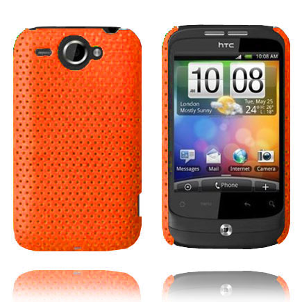 Atomic (Orange) HTC Wildfire G8 Skal