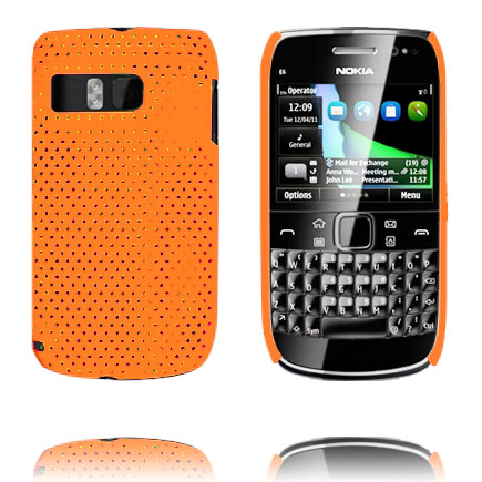 Atomic (Orange) Nokia E6 Skal