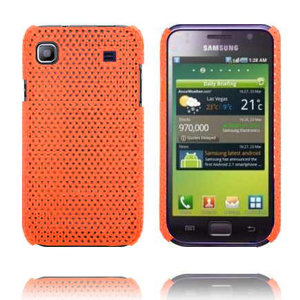 Atomic (Orange) Samsung Galaxy S Skal