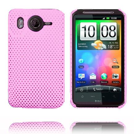 Atomic (Ljusrosa) HTC Desire HD Skal