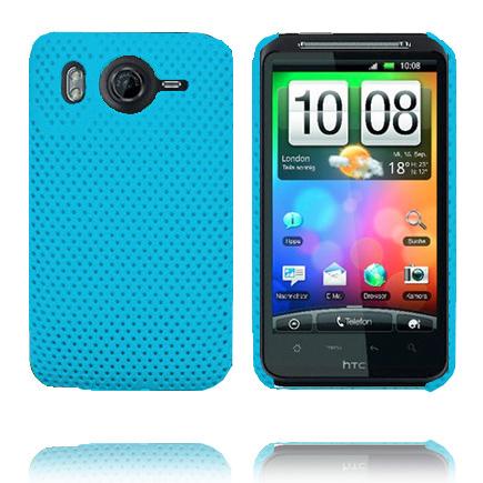 Atomic (Ljusblå) HTC Desire HD Skal
