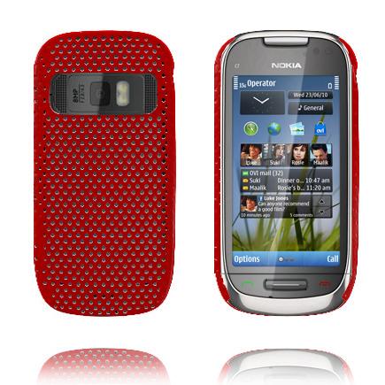 Atomic (Röd) Nokia C7 Skal