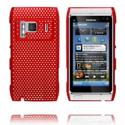 Atomic (Röd) Nokia N8 Skal