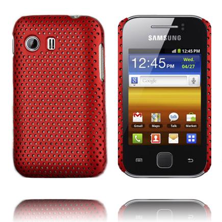 Atomic (Röd) Samsung Galaxy Y Skal