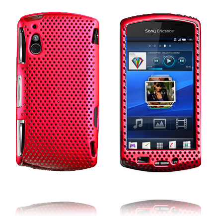 Atomic (Röd) Sony Ericsson Xperia Play Skal