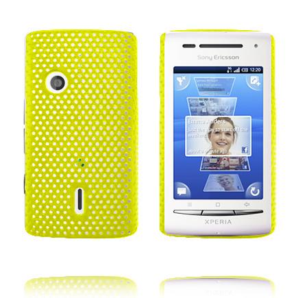 Atomic (Gul) Sony Ericsson Xperia X8 Skal
