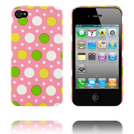 Baby Dots (Rosa) iPhone 4 Skal