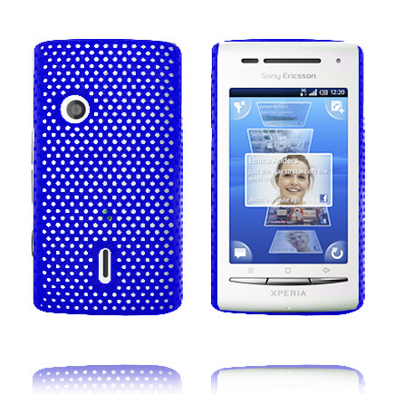 Atomic (Blå) Sony Ericsson Xperia X8 Skal