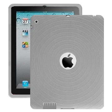 Bombay (Grå) iPad 2 Silikonskal