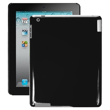 Candy Colors (Svart) iPad 2 Skal
