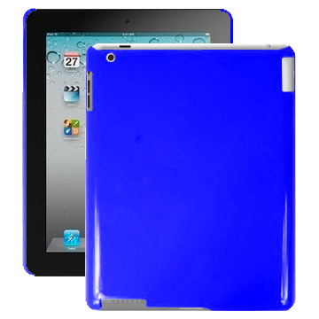 Candy Colors (Blå) iPad 2 Skal