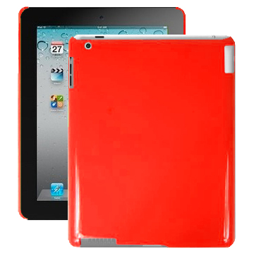 Candy Colors (Röd) iPad 2 Skal
