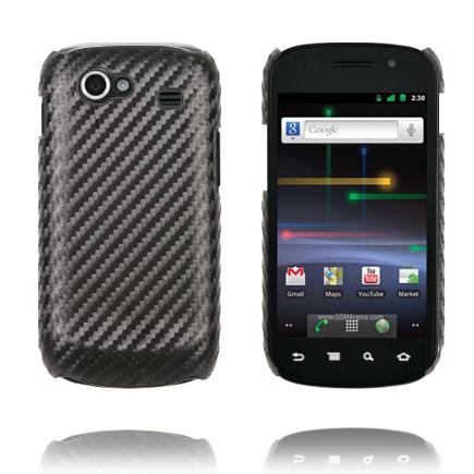 Carbonite (Svart) Samsung i9020 Nexus S Skal