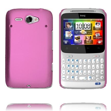 Hårdskal Version 2 (Ljusrosa) HTC ChaCha Skal