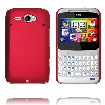 Hårdskal Version 2 (Röd) HTC ChaCha Skal