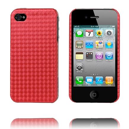 Chess Colors (Röd) iPhone 4/4S Skal